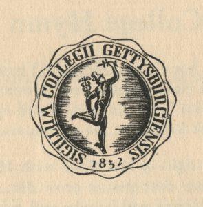 Gettysburg College Seal, 1952